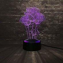 3D Night Light Girls Night Light ,Dimmable