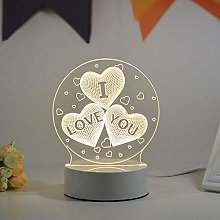 3D Night Light Little Prince Creative Vision Table