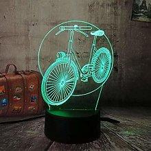 3D Night Light Night lamp ,Dimmable Brightness