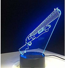 3D Night Lights Table Lamp 3D Illusion Lamptouch