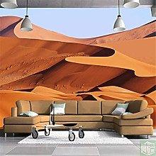 3D Nonwoven Wallpaper with Desert Photo 3D