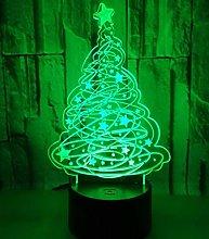 3D Optical Illusion Night Light for Boys Christmas
