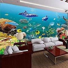3D Photo Wallpaper for Bedroom Walls seawater