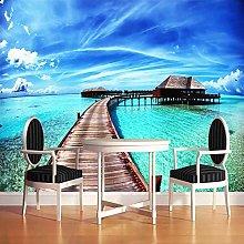 3D Photo Wallpaper for Living Room Sofa Bedroom TV