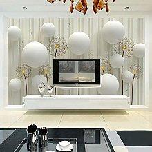3D Photo Wallpaper Modern Fashion Simple Dandelion