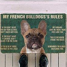 3D Print My French Bulldog Doormat Floor Mats