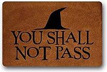3d printed indoor door mat You Shall Not Pass -