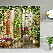3D printed shower curtain small shower curtain