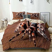 3D Printed Spider Bedding Set for Children Double