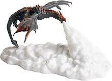 3D Printed Volcano Dragon Lamps Dragon Fire