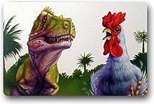 3D printing door mat living room mat Funny Chicken