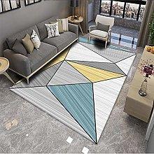3D Printing Living Room Bedroom Splicing Carpet,