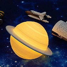 3D Printing Saturn Lamp Home Decoration Bedroom