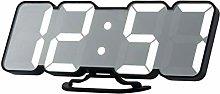 3D Remote Control Digital Wall Clock 115 Clock