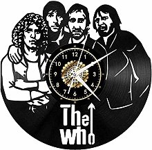 3D Retro Vinyl Wall Clock Creative Vinyl Wall