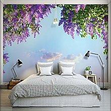 3D Room Landscape Wallpaper Beautiful Flowers