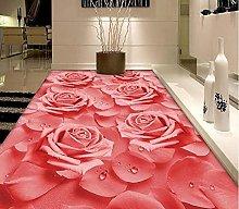3D Room Wallpaper PVC Floor Self Adhesive Hd Warm