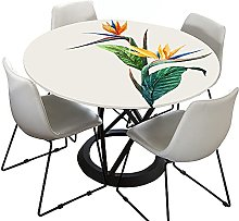 3D Round Tablecloth for Circular Table, Morbuy