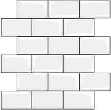 3D Self-Adhesive Waterproof Wallpaper Mosaic Tile