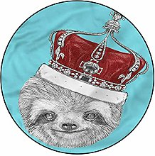 3D Sloth Pattern Area Rugs Carpets,4'