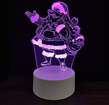 3D Small Night Lights Creative Holiday Gift Led