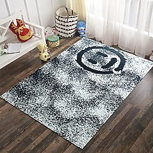 3D Smiley Style Rectangular Area Carpet 47x67