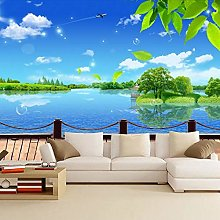 3D Stereo TV Background Wall Painting Wallpaper