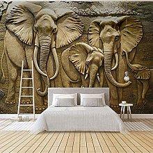 3D Stereoscopic Elephant Living Room Sofa Tv