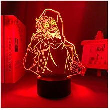 3d Table Lamp Anime My Hero Academia Tomura Motegi