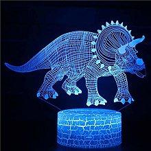 3D Table Lamp Spinosaurus Hallorum Argentinosaurus