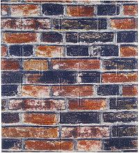 3D Tile Brick Wall Sticker Foam Panel Wallpaper