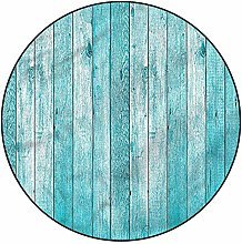 3D Turquoise Pattern Area Rugs Carpets,5'