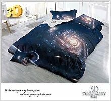 3D Universe Effect 4 Pieces Complete Bedding Set