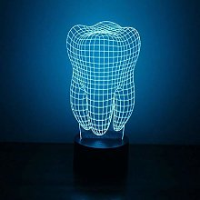 3D USB Led Novelty Colorful Visual Lamp Table