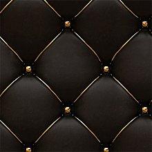3D Vintage Leather Textured Wallpaper PVC Mural