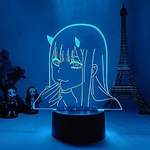 3D Vision Night Light Mood Light + with Remote