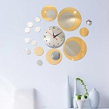 3D Wall Clock Mirror Wall Stickers Big Decorative