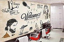 3D Wall Paper Barbershop 3D Wallpaper Mural Wall