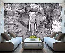 3D Wallpaper Abstract Elephant for Walls Murals