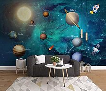 3D Wallpaper Cosmic Sun for Walls Murals Wallpaper