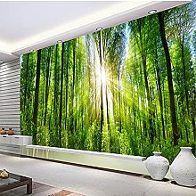 3D Wallpaper for Bedroom and Living Room Green