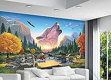 3D Wallpaper for Bedroom and Living Room Jungle