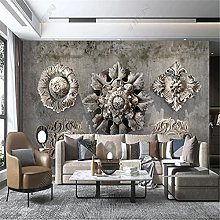 3D Wallpaper for Living Room Elements with Strong