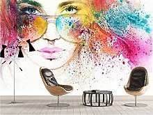 3D Wallpaper Graffiti Hand Drawn Beauty Cool