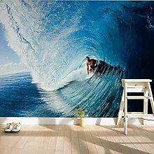 3D Wallpaper Mural D Living Room Room Mural Surf