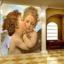 3D Wallpaper Mural European People Wallpaper Rooms