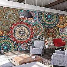 3D Wallpaper Mural Size Custom European Pattern