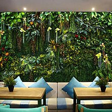 3D Wallpaper Mural Size Tropical Forest Plant