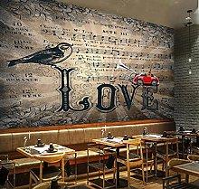 3D Wallpaper murals Bar ktv Music Music Note 3D