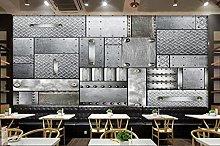 3D Wallpaper murals Fashion Industrial Style bar